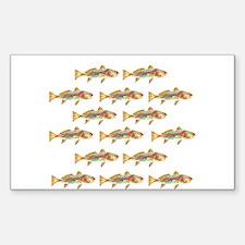 Redfish pattern Decal