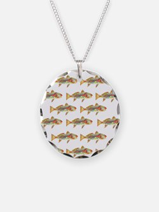 Redfish pattern Necklace