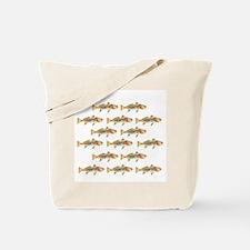 Redfish pattern Tote Bag
