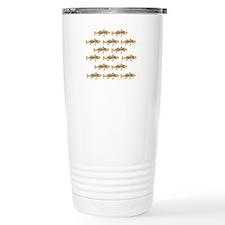 Redfish pattern Travel Mug