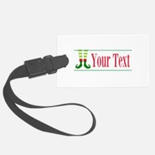 Personalizable Elf Feet Luggage Tag