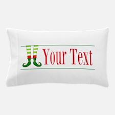 Personalizable Elf Feet Pillow Case