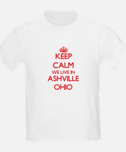 Keep calm we live in Ashville Ohio T-Shirt