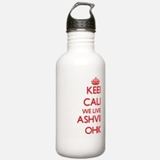 Keep calm we live in A Water Bottle