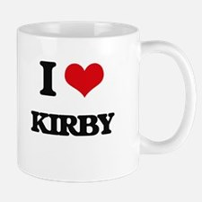 I Love Kirby Mugs