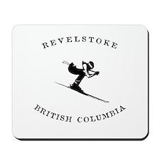 Revelstoke British Columbia Canada Skiing Mousepad