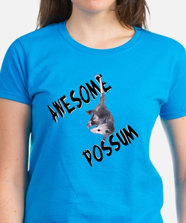 Awesome Possum Women's Dark T-Shirt