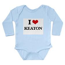 I Love Keaton Body Suit