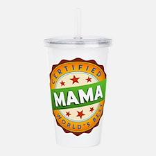World's Best Mama Acrylic Double-wall Tumbler