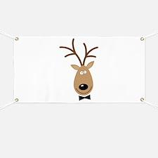 Dasher Reindeer Banner