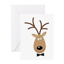 Dasher Reindeer Greeting Cards