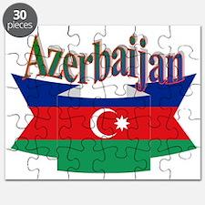 Azerbaijani ribbon Puzzle