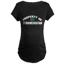 Property Of Turkmenistan T-Shirt