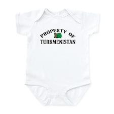 Property Of Turkmenistan Infant Bodysuit