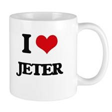I Love Jeter Mugs