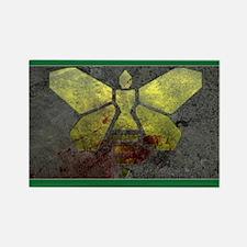 Golden Moth Chemical Logo Rectangle Magnet
