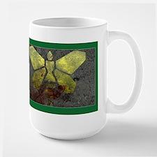 Golden Moth Chemical Logo Large Mug