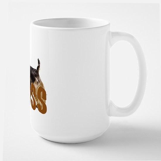 Australian terrier Boss Large Mug