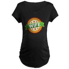 World's Best Wife Maternity T-Shirt