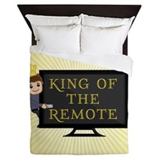 King of the Remote Queen Duvet
