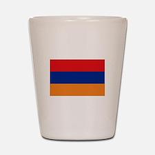 Armenian flag Shot Glass