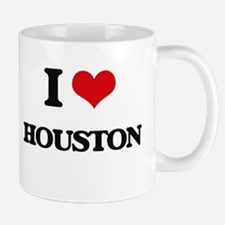 I Love Houston Mugs
