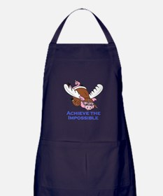 ACHIEVE THE IMPOSSIBLE Apron (dark)