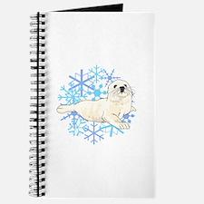 HARP SEAL SNOWFLAKES Journal