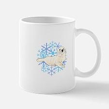 HARP SEAL SNOWFLAKES Mugs