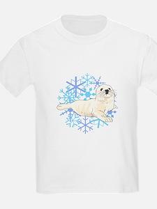 HARP SEAL SNOWFLAKES T-Shirt
