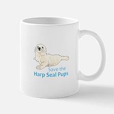 SAVE THE HARP SEAL PUPS Mugs