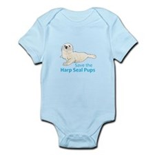 SAVE THE HARP SEAL PUPS Body Suit