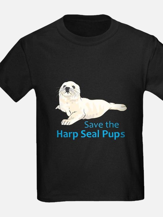 SAVE THE HARP SEAL PUPS T-Shirt