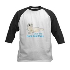 SAVE THE HARP SEAL PUPS Baseball Jersey