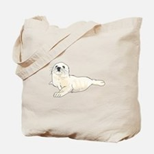 HARP SEAL PUP Tote Bag