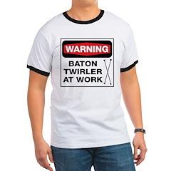 WARNING Baton Twirler T