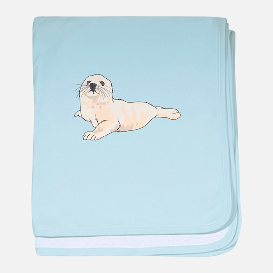 HARP SEAL PUP baby blanket