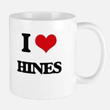 I Love Hines Mugs