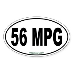 56 MPG Euro Decal