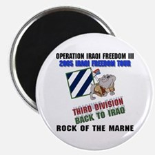 Back to Iraq OIF 2005 Tour Magnet