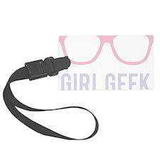 Girl Geek Luggage Tag