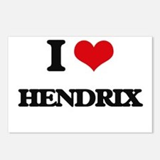 I Love Hendrix Postcards (Package of 8)