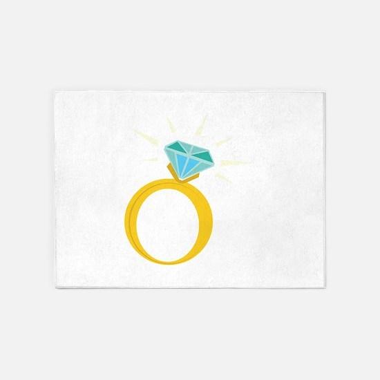 Diamond Ring 5'x7'Area Rug