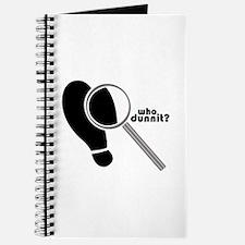 Detective WhoDunit Journal