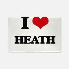 I Love Heath Magnets