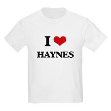 I Love Haynes T-Shirt