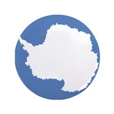"Antarctic flag 3.5"" Button"