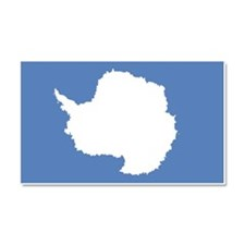 Antarctic flag Car Magnet 20 x 12