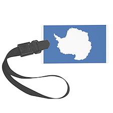 Antarctica Flag Luggage Tag
