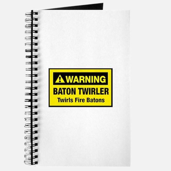 Twirls Fire Batons Journal
